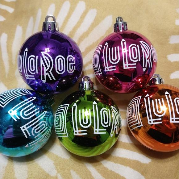 LuLaRoe holiday Christmas ornaments